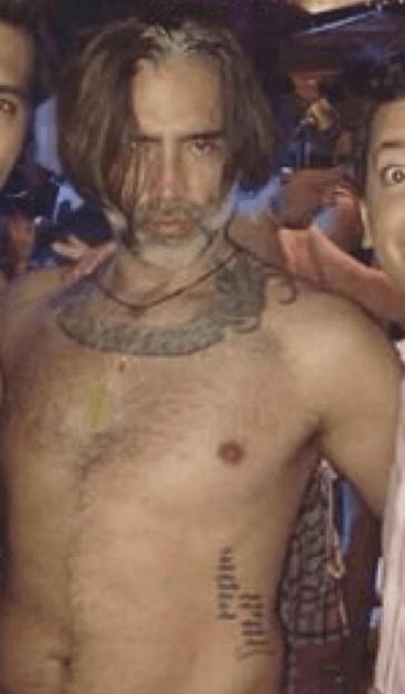 Tatuajes Alejandro Fernandez torso