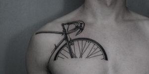 Tatuajes de bicicletas que puedes hacerte