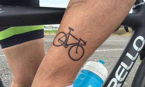 tatuajes para ciclistas