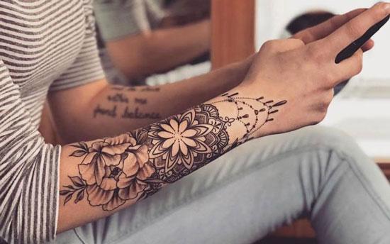 tatuajes de manga para mujeres