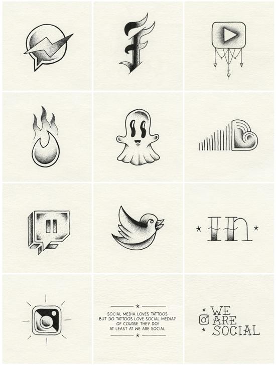tatuajes para redes sociales