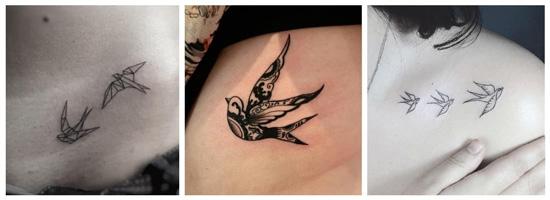 Tatuajes golondrinas