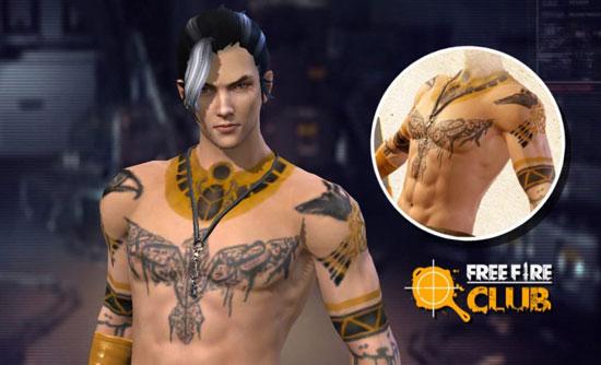 tatuajes sobre simbolos de free fire